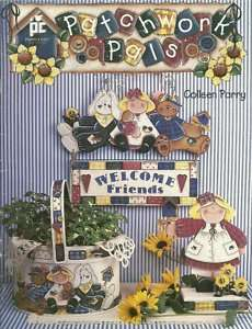 Patchwork Pals Tole Painting Book Colleen Parry Primitive Country