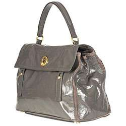 Yves Saint Laurent Muse Two tone Grey Tote