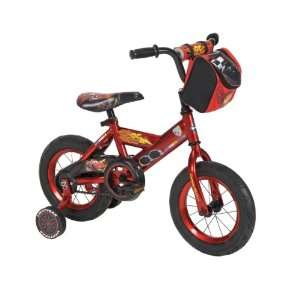 Huffy Disney Cars Bike with Training Wheels (12 inch