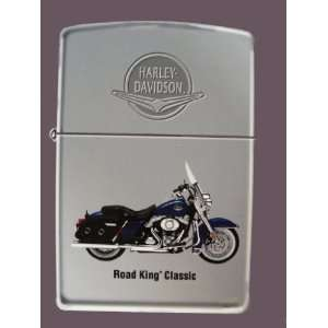 Harley Davidson Motor Cycles Road King Zippo Lighter