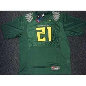 LaMichael James Autographed/Hand Signed Nike Oregon Ducks