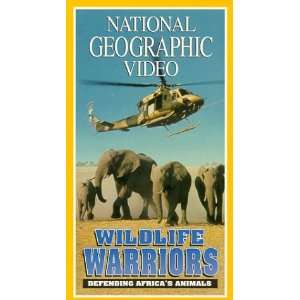 National Geographics Wildlife Warriors [VHS] National Geographic