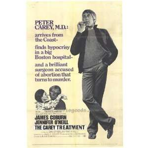 The Carey Treatment Poster B 27x40 James Coburn Jennifer
