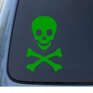 SKULL AND CROSSBONES   Pirates   Car, Truck, Notebook, Vinyl Decal