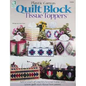 Plastic Canvas Quilt Block Tissue Toppers 7 Styles Laura