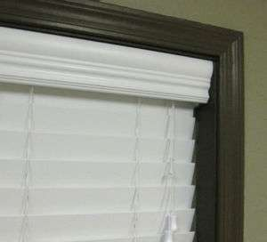 Inch Vinyl Faux Wood Window Blinds up to 66w x 24h