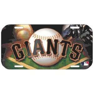 MLB San Francisco Giants High Definition License Plate *SALE*
