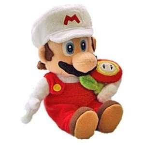 Nintendo Super Mario Galaxy Fire Flower Plush Toys & Games