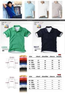 Premium Mens Solid Casual Polo Shirts Plain T shirt Tee Short Sleeve