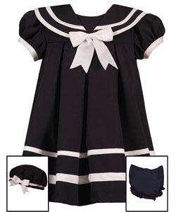 Rare Editions 3 piece Navy Sailor Dress