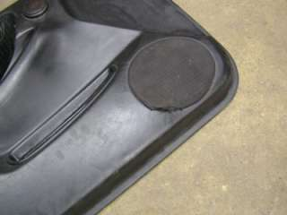 GOOD DRIVERS FRONT DOOR PANEL IN BLACK CLOTH FROM A 95 INTEGRA GSR 2DR