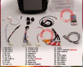 GPS Radio Navigation Car DVD 2011 map 2Din Toyota RAV4