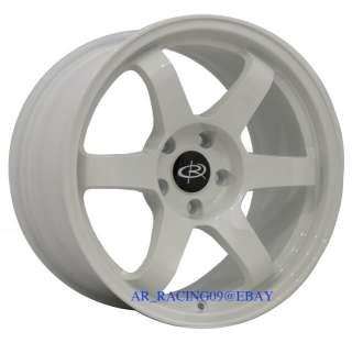 17 Rota Wheels 17x9 GRID WH IS350 EVO 8 9 X 350z 370z