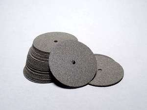 25 Very Thin Cutting Separating Discs Dremel Rotary Tool Jewelry
