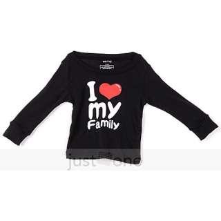Boy Girls Cute Pattern Sleepwear Tops + Pants Pajama Set 2 7Y