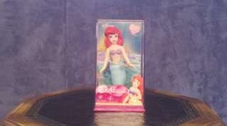 Walt Disney Little Mermaid 5 Porcelain Doll Brass Key