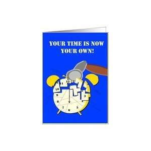 Retirement congratulations   time Card: Health & Personal Care