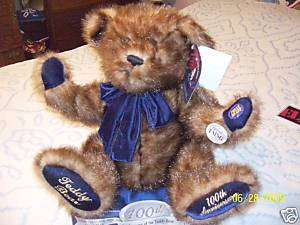 100TH ANNIVERSARY TEDDY BEAR COLLECTORS EDITION~~2002~~