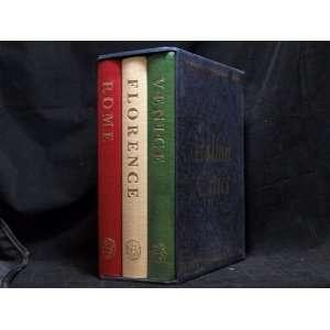Italian Cities Rome, Venice, Florence. Three Volume Set