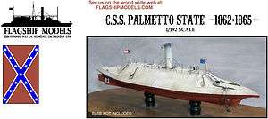 192 Scale CSS Palmetto State Model Kit