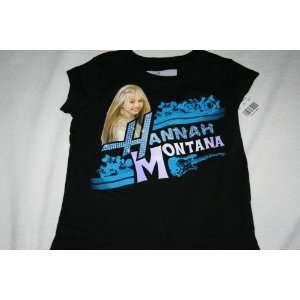 HANNAH MONTANA BLACK POP STAR SHIRT