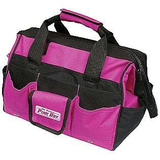 Pink Tool Bag w/ 24 Inside and Outside Pockets  The Original Pink Box