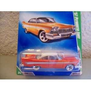 Hot Wheels 2009 Treasure Hunts 1957 Plymouth Fury Toys & Games
