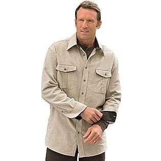 Chamois Shirt Jacket  Oak Hill Clothing Mens Big & Tall Shirts