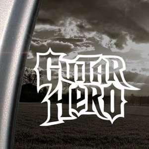 GUITAR HERO GAME Decal Car Truck Window Sticker