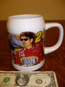 1997 JG MOTORSPORTS #24 JEFF GORDON NASCAR MUG GLASS