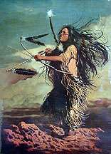 Penni Anne Cross DANCE APACHE Signed Numbered Print