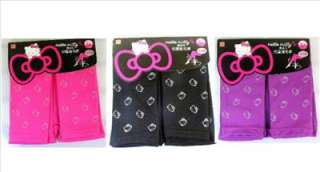 Hello Kitty kids classic footless tights. These tights features Hello