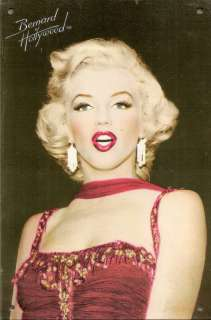 Marilyn Monroe Tin Sign Accent by Bernard of Hollywood