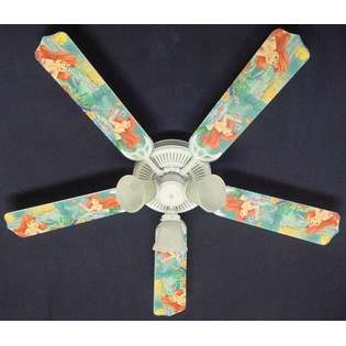 Fan Designers 52FAN DIS DLMA Disney Little Mermaid Ariel Ceiling Fan