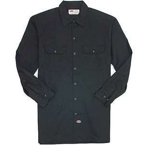 Dickies Mens Long Sleeve Twill Work Shirt