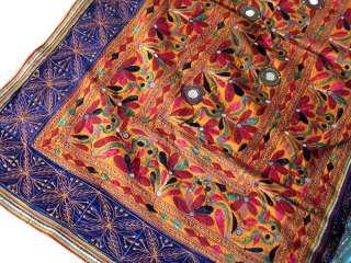 Banjara Rare Mirror Kutch Indian Wall Hanging Tapestry