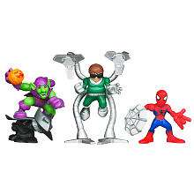 Marvel Super Hero Squad The Amazing Spider Man Super Villain Surprise