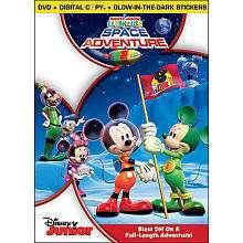 Disney Mickey Mouse Clubhouse Space Adventure DVD   Walt Disney