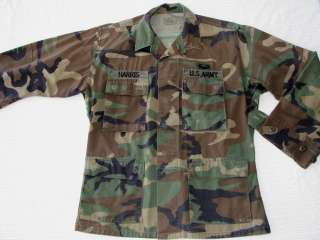 VINTAGE US ARMY Uniform SHIRT Field Blouse Military Marines USMC