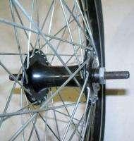 20 FRONT ALUMINUM BICYCLE RIM/HUB MONGOOSE TIRE BIKE PARTS B28