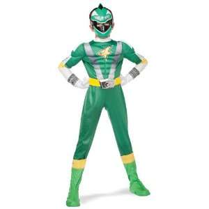 Boys Green Ranger Muscle Costume   RPM Power Rangers Toys & Games