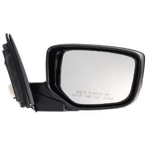 Pilot 08 10 Honda Accord Coupe Power Heated Mirror Right Black Smooth