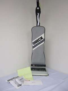 Oreck XL Hypo Allergenic Vacuum XL2800H2B w Manual