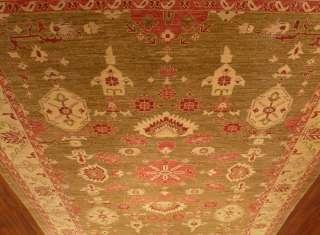 9x12 Beautiful Hand Woven 100% Wool Oushak Rug