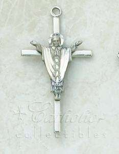 CREED Sterling Silver Fine Risen Christ Crucifix NEW