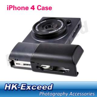 Style Hard Case Cover protection for Apple iPhone 4 (Black)
