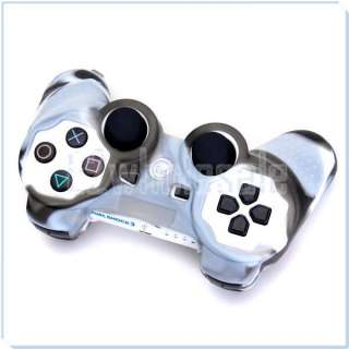 Protective Skin Cover Case for Sony PlayStation PS2 PS3 Controller