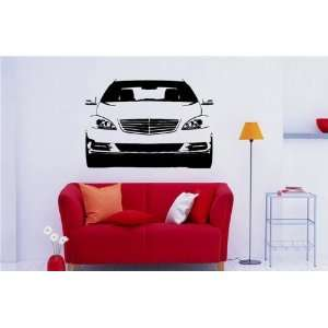 Wall MURAL Vinyl Sticker Car Mercedes S Class S. 928