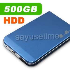 500GB 2.5 USB 2.0 Portable Mini External HDD Hard Drive