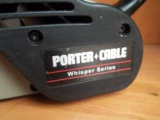 PORTER CABLE BELT SANDER MODEL # 362VS + 34 Sand Paper Belts 100 grit